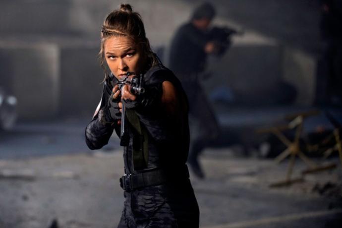 Sonnen detona Ronda: Ela não é atriz. Só fez filmes porque era muito famosa