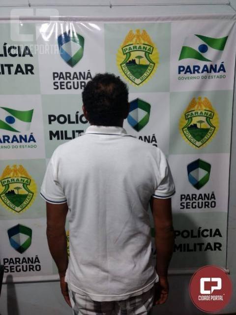 Equipe da Polícia Militar cumpre mandado de prisão em Terra Boa