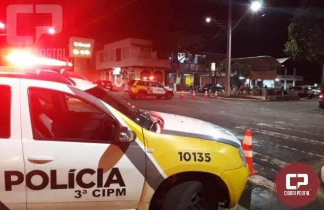 Policiais Militares realizam operação no município de Santa Isabel do Ivaí