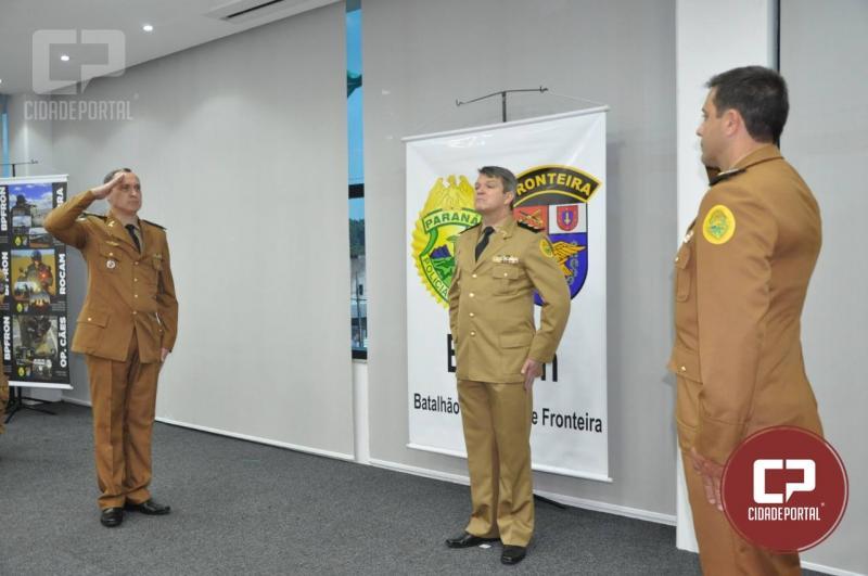 Major Saulo de Tarso Sanson Silva é o novo comandante do Batalhão de Polícia de Fronteira