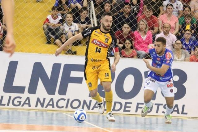 Sorocaba segura empate com Joaçaba e avança às quartas da Liga Nacional de Futsal