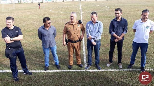 7º BPM realiza torneio de futebol em comemoração ao Coronel Sarmento