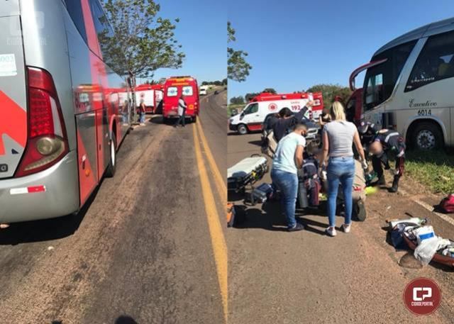 Motociclista morre ao chocar-se contra ônibus de linha na PR-323