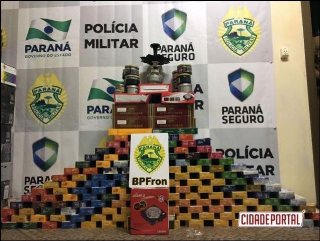 Maconha e Essência de narguilé são apreendidos durante Operação Fronteira Blindada