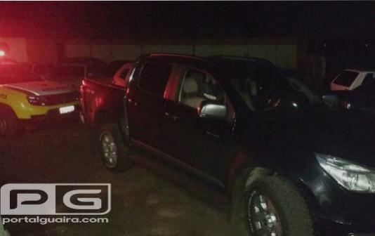Bandidos armados roubam veículo e pertences em residência de Rancho Alegre do Oeste