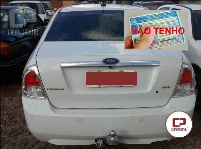 Polícia Militar de Goioerê apreende veículo com documentos irregulares e motorista sem habilitação