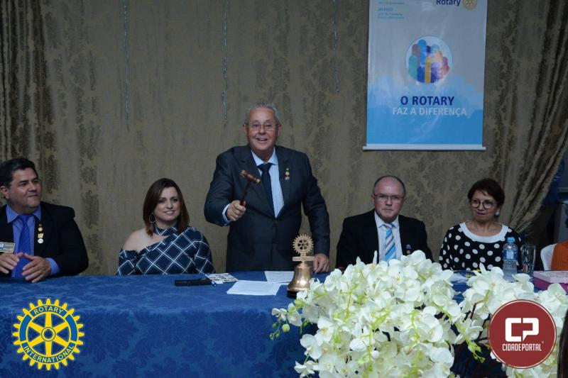 Humberto de Castro foi empossado como presidente 2018/2019 no Rotary Club de Moreira Sales