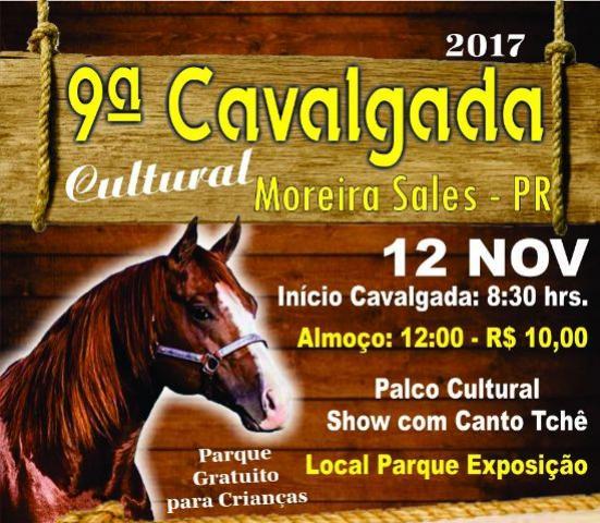 9ª Cavalgada Cultural promete ter Record de Participação