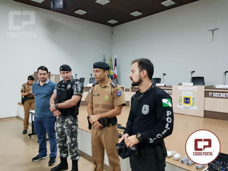 Policiais Militares e Civis de Ubiratã participam de instrução teórica e prática com Pistolas Glock 9mm