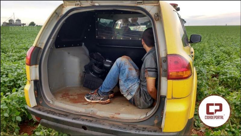 Um assaltante é morto e outro preso após confronto com a Polícia Militar de Juranda