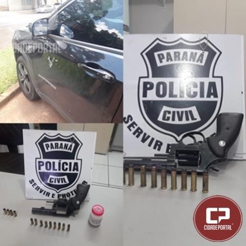 Polícia Civil de Umuarama age rápido e prende acusado de tentativa de homicídio