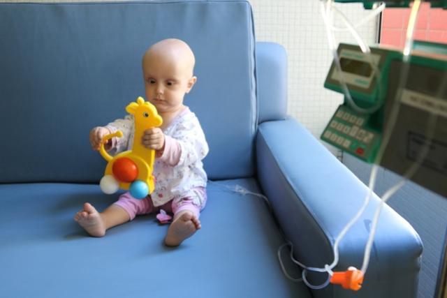 É tempo de lutar contra o câncer na infância