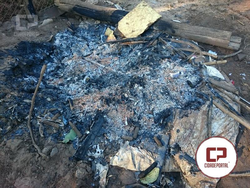 Polícia Ambiental de Umuarama identifica o responsável pela emissão da fumaça que intoxicou criança no Bairro São Cristóvão
