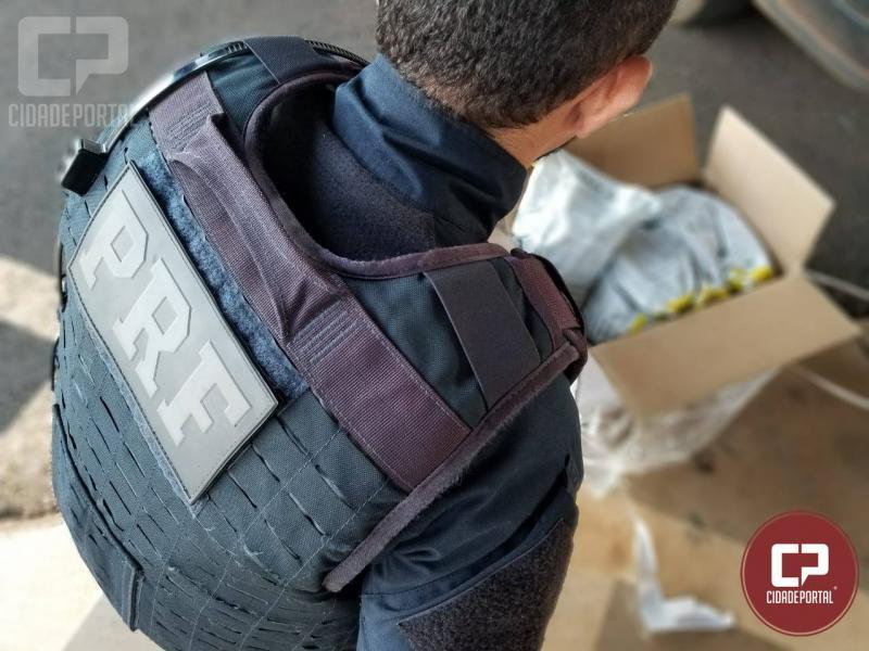 Polícia Rodoviária Federal apreende agrotóxicos contrabandeados em Guaíra