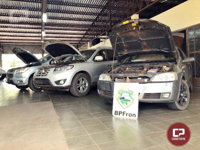 BPFRON apreende carros que colocam em risco a vida de pessoas em Perobal-PR