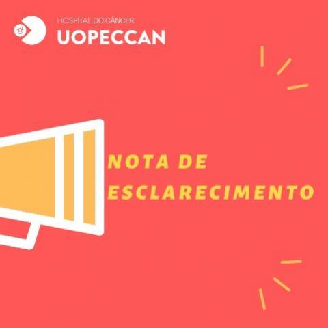 Uopeccan adotou todas as ações necessárias frente a pandemia do COVID-19