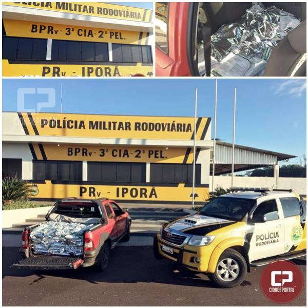 Polícia Rodoviária Estadual de Iporã apreende grande quantidade de agrotóxicos