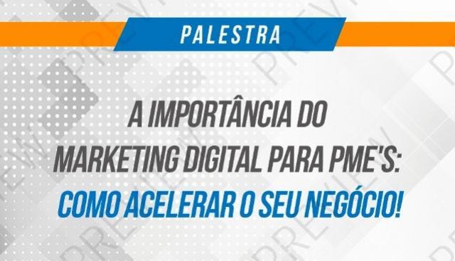Especialista em marketing digital fará palestra na prefeitura de Campo Mourão
