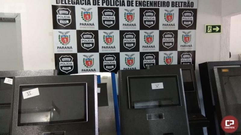 Polícia Civil apreende máquinas de Caça-Níquel em Engenheiro Beltrão