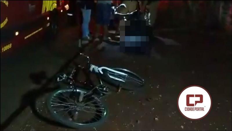 Jovem de 20 anos de idade é morto com várias facadas no Jardim aeroporto em Campo Mourão
