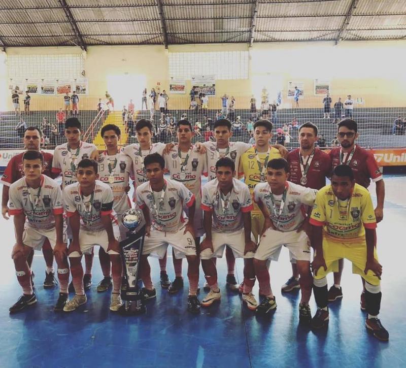 M/Futsal é vice-campeão do Paranaense Sub17