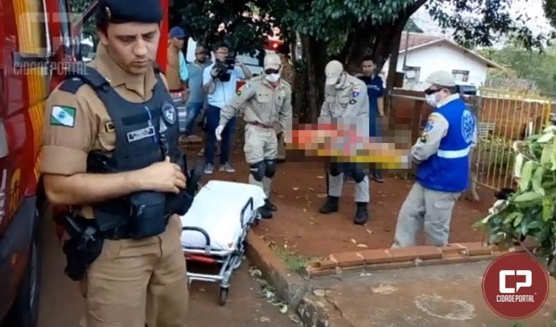 Após discussão duas pessoas acabam esfaqueadas no Jardim Alvorada em Campo Mourão
