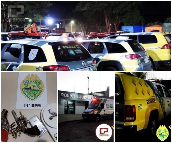 Polícia deflagra operação contra o tráfico de drogas na região noroeste do Paraná