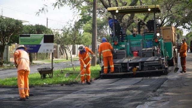 Iniciado o recape da Avenida João Bento em Campo Mourão