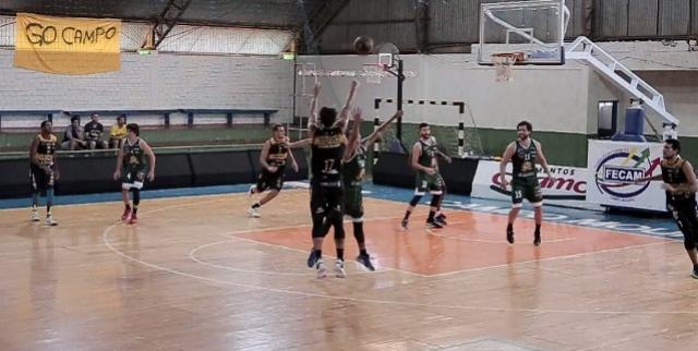Campo Mourão Basquete vence primeiro amistoso preparatório para o Brasileirão