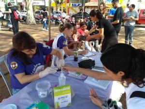 Campanha Setembro Lilás em Campo Mourão foi aberta com ações em prol da saúde do idoso