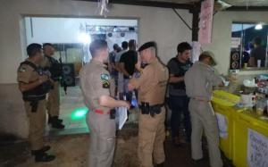 Ação integrada entre forças de segurança faz Operação Arrastão em Campo Mourão e Luiziana