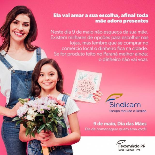 Campanha defende a valorização do comércio local no Dia das Mães