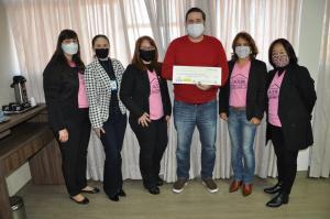 Casa das Fraldas recebeu doação de R$ 2 mil reais da Associação de Senhoras de Rotarianos