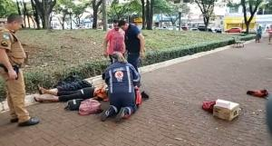 Mulher é presa após esfaquear uma pessoa no pescoço em Campo Mourão