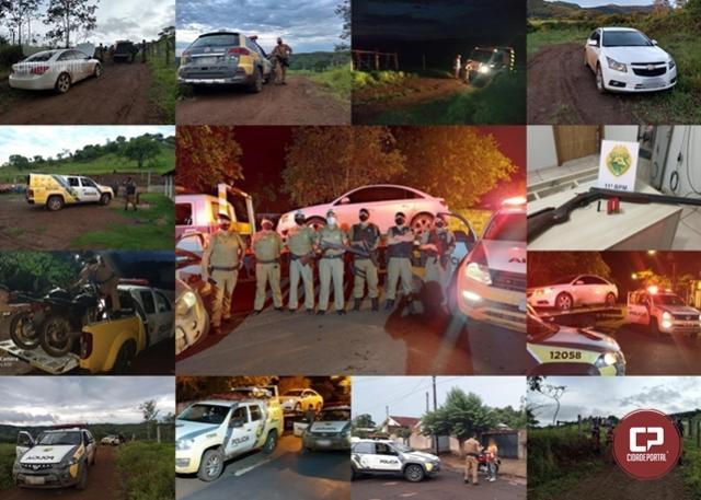 11° Batalhão de Polícia Militar divulga balanço da Operação Sinergia na sua área de atuação