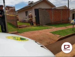 Uma tentativa de homicídio foi registrado no conjunto Fortunato Perdoncini em Campo Mourão.