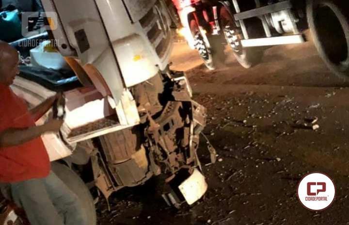Grave acidente envolvendo vários veículos entre Quinta do Sol e Fenix