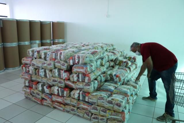 Ação Social explica sobredistribuição de cestas básicas em Campo Mourão