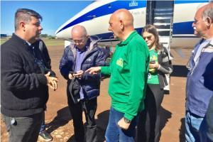 Proprietário da Rede de Lojas Havan visita Campo Mourão
