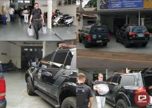 Operação Policial interdita oficina e prende proprietário em Campo Mourão
