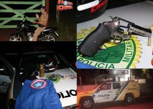 Dupla de assaltantes é presa pela polícia Militar após cometer crime em Iretama