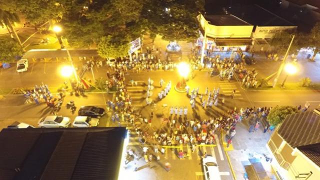 Encontro Cultural de Fanfarras movimenta noite de sexta-feira, 01 em Moreira Sales