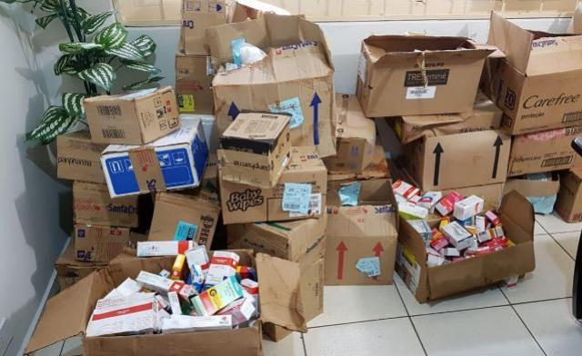 Polícia recupera carga roubada de medicamentos e prende ladrão em Campo Mourão