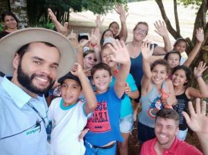 Passeios com alunos e proteção de mina fecham a programação do dia da água em Iretama