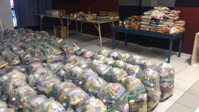 Centro da Juventude é o ponto de arrecadação de doações em Campo Mourão