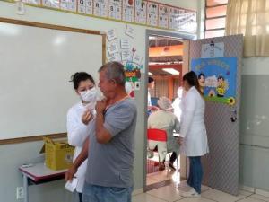 Vacinação contra gripe será retomada no próximo dia 16 em Campo Mourão