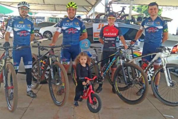 Ciclismo Mourãoense representado no GP Paiçandu de MTB