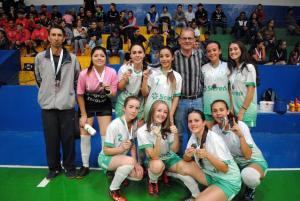 No Futsal Feminino, Roncador e Campo Mourão ficam com o Ouro em cada categoria