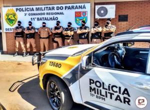 Celulares e drogas são apreendidos durante vistoria na cadeia pública de Engenheiro Beltrão