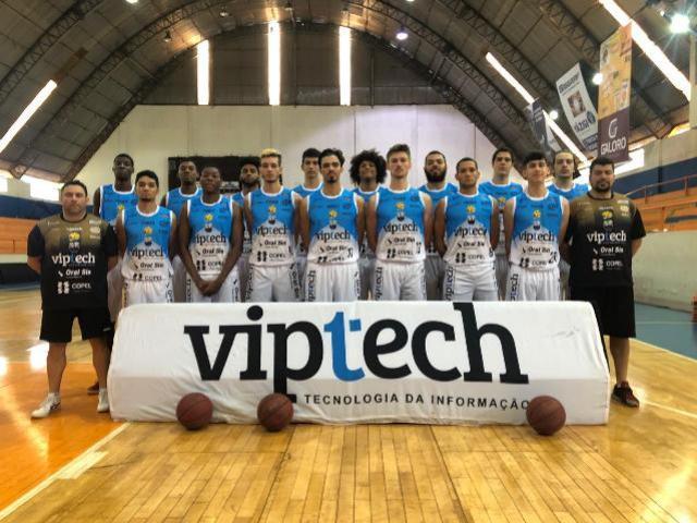 Vip Tech Campo Mourão Basquete encara São José dos Pinhais em casa pelo Paranaense